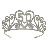 Beistle Glittered Metal 50 Tiara