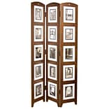 Nexxt PN09240-4 Wood 64.5 x 33 Picture Frame; Chestnut