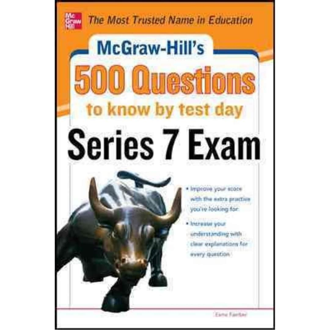 McGraw-Hill's 500 Series 7 Exam Questions to Know by Test Day Esme Faerber  Paperback