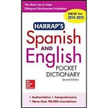 Harraps Spanish and English Pocket Dictionary Harrap Paperback