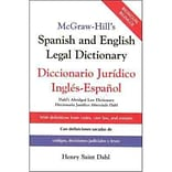 McGraw-Hills Spanish and English Legal Dictionary Henry Saint Dahl Hardcover