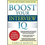 Boost Your Interview IQ Carole Martin Paperback