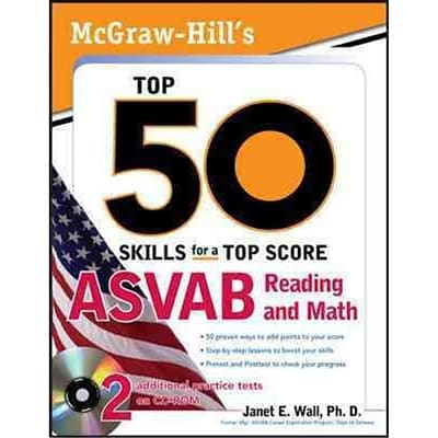 McGraw-Hills Top 50 Skills for a Top Score Dr. Janet Wall Paperback With Two CDs
