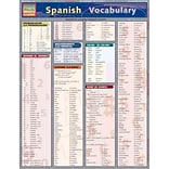Spanish Vocabulary Inc. BarCharts Pamphlet