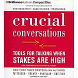 Crucial Conversations Audio CD