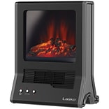 Lasko® CA20100 Ultra Ceramic Fireplace Heater; Black