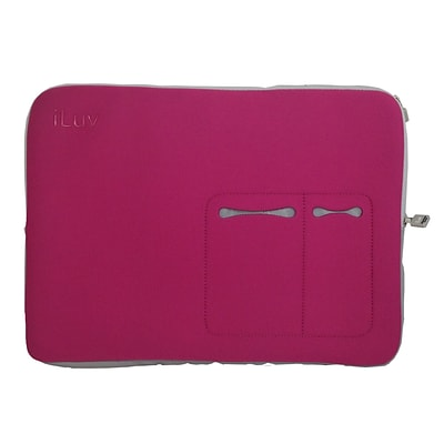 iLuv® 17 Macbook Pro Sleeve, Pink