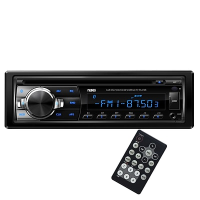 Naxa® NCA-603 Ovando AM/FM Radio MP3/CD Player With Anti-Skip Protection and Remote Control