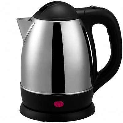 Brentwood® 1.2 Litre Cordless Stainless Steel Electric Tea Kettle, Brushed