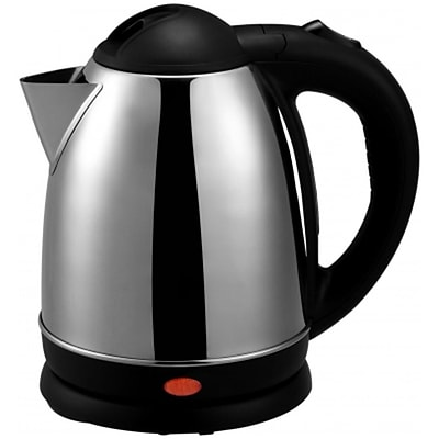 Brentwood® 1.5 Litre Cordless Stainless Steel Electric Tea Kettle; Brushed