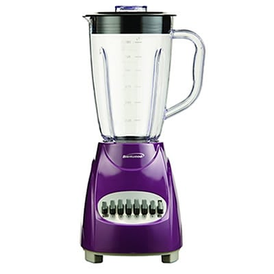Brentwood® 12 Speed Blender With 1.5 Litre Plastic Jar; Purple