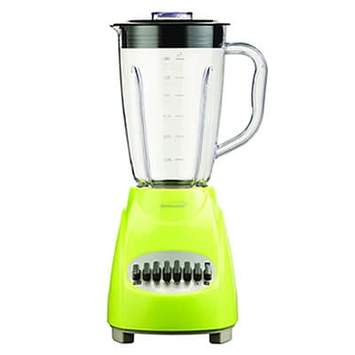 Brentwood® 12 Speed Blender With 1.5 Litre Plastic Jar; Green