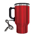 Red 16 oz. Electric Coffee Mug W/Car Plug