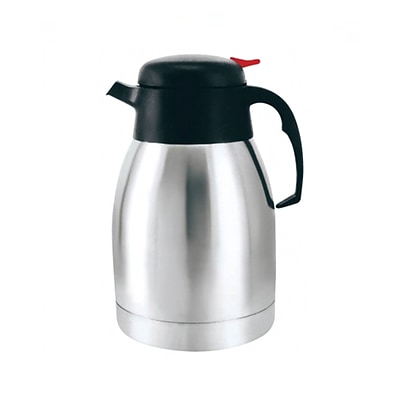 Brentwood® CTS-1200 Vacuum Stainless Steel Coffee Pot; 1.2 Litre