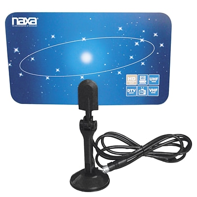 Naxa® NAA-306 Ultra Thin Flat Panel Style High Powered Antenna For HDTV/ATSC Digital Television