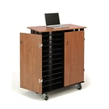 Oklahoma Sound® Laptop Charging and Storage Cart