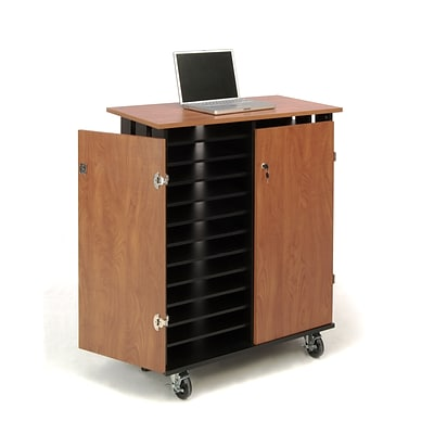 Oklahoma Sound® Mobile Laptop Charging and Storage Cart