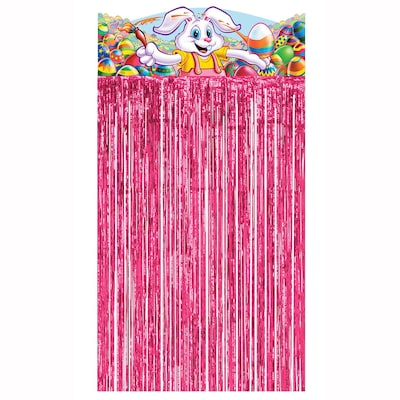 Beistle Easter Bunny Character Curtain