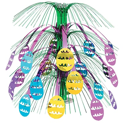 Beistle 18 Easter Egg Cascade Centerpiece; 3/Pack