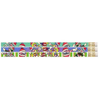 Musgrave Pencil Company Sock It To Me Monkeys Motivational Pencil; 12/Pack