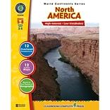 Classroom Complete Press World Continents Series North America Resource Book, Grades 5 - 8