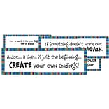 Crystal Productions Art Motivation Display Card, Grade Preschool - 9