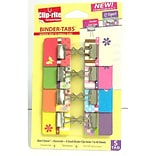 Clip-Rite Spring Collection Binder Tabs With X-Small Clips; 8/Pack