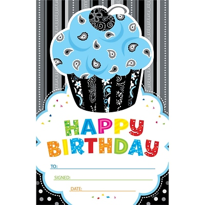 Creative Teaching Press® BW Collection Happy Birthday Award, 30/Pack