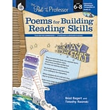 Shell Education The Poet and the Professor Poems for Building Reading Skills Book, Grade 6 - 8