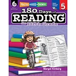 Shell Education Practice, Assess, Diagnose 180 Days of Reading Book, Grade 5