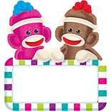 Trend Enterprises® 6 Classic Accents, Sock Monkeys Signs, 36/Pack