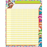 Trend Enterprises® Sock Monkeys Large Incentive Chart, 17 x 22