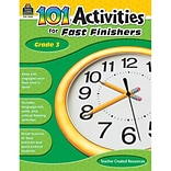 Teacher Created Resources 101 Activities For Fast Finishers Activity Book, Grade 3