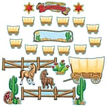 Teacher Created Resources Bulletin Board Display Set, Western Roundup