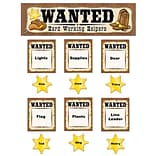 Teacher Created Resources Mini Bulletin Board Set, Wanted Western Helpers