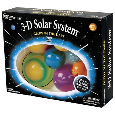 Great Explorations Glowing 3-D Solar System (UG-19862)