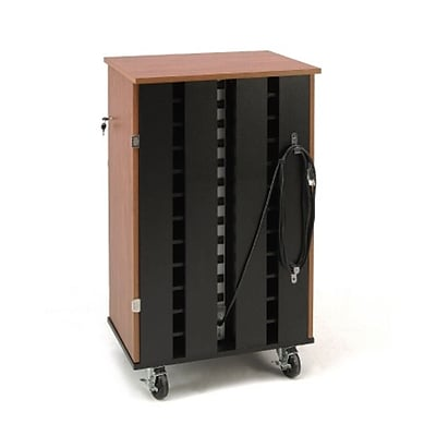 Oklahoma Sound® Mobile Tablet Charging and Storage Cart