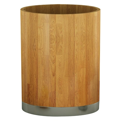 NU Steel Ageless 1.75 Gallon Waste Basket