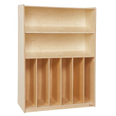 Wood Designs Tip-Me-Not 24(H) Plywood Bookcase, Birch