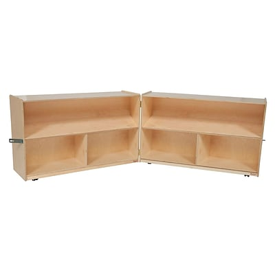 Wood Designs Storage 30H Folding Versatile Storage, Birch