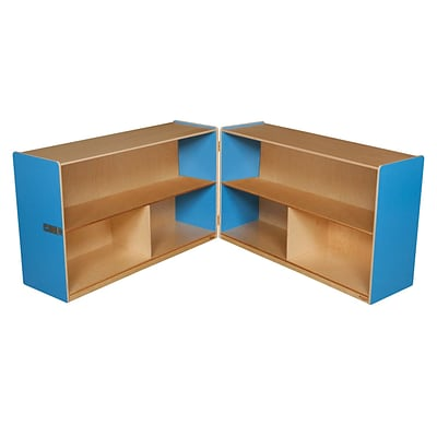 Wood Designs Storage 30H Folding Versatile Storage, Blueberry