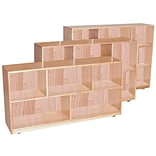 Wood Designs Storage 36H Single Storage, Maple