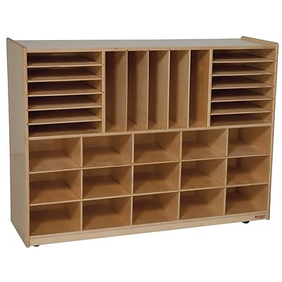 Wood Designs Multi-Storage Without Trays, Birch