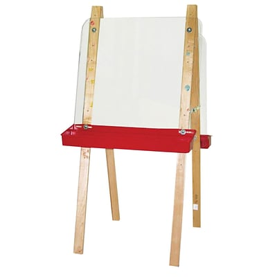 Wood Designs Art Double Easel With Acrylic 2 Sides, Birch