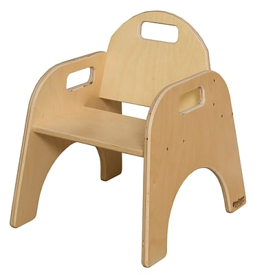 Wood Designs 9(H) Plywood Woodie Chair, Natural