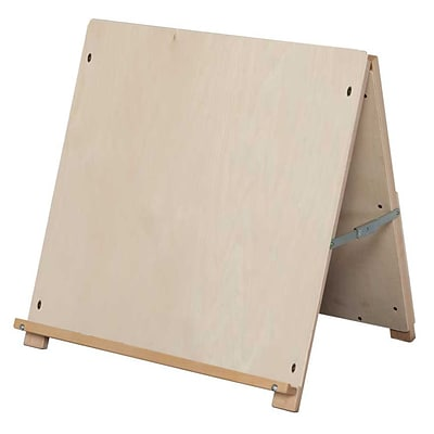 Wood Designs Art Big Book Tabletop Easel, Birch