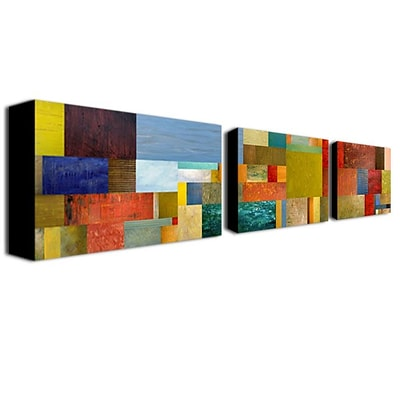 Trademark Fine Art18x32 ABS, Canvas Gallery-Wrapped Canvas Art, Set/3