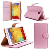 i-Blason Apple iPhone 6 and 6s 4.7 Case - Slim Leather Book Wallet Cover - Pink