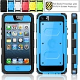 Blue Hybrid Protective Case F/iPhone 5C