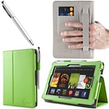 Green Leather Case F/Kindle Fire HD 7